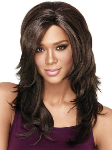 Affordable Long Straight Capless African American Wigs