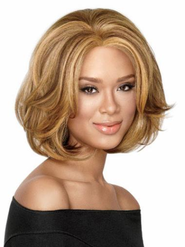 Hairstyles Short Wavy Capless African American Wigs