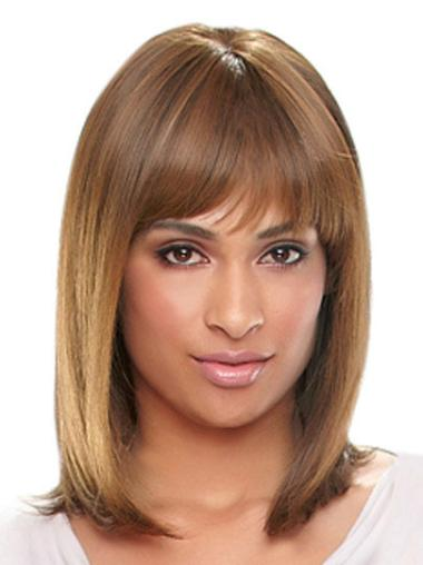 Beautiful Long Straight Capless African American Wigs
