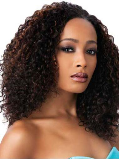 Cheap Long Curly Capless African American Wigs