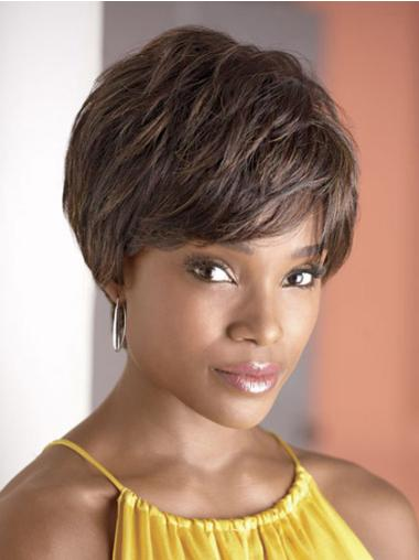 Fabulous Short Curly Capless African American Wigs