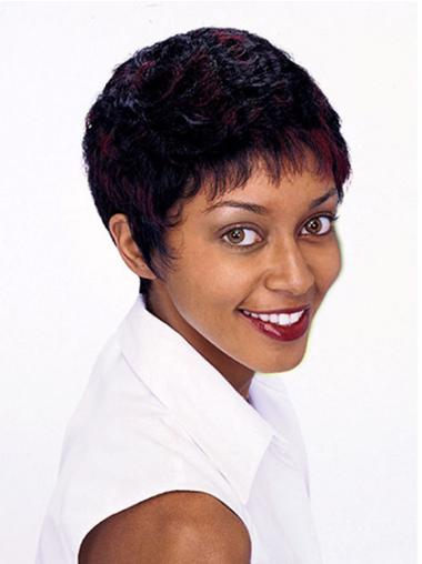 Ideal Short Curly Capless African American Wigs