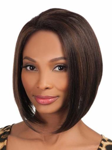 Great Short Straight Capless African American Wigs