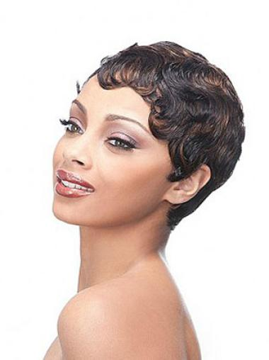 Full Lace Brown Synthetic Wigs