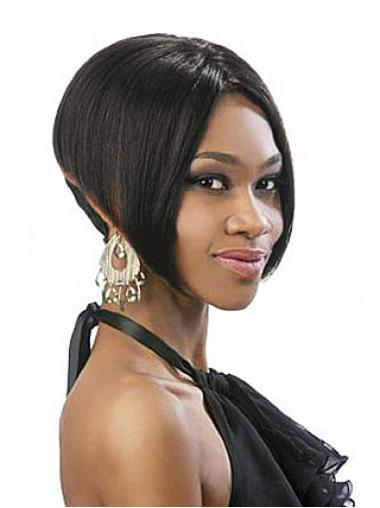 Full Lace Black Synthetic Wigs