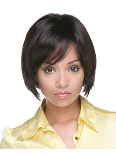 Synthetic Affordable Medium Capless Bobs Wigs