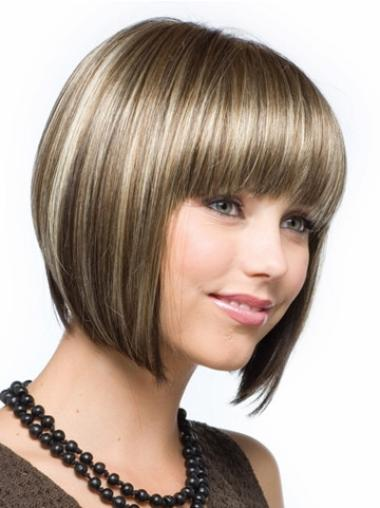 Short Capless Synthetic Beautiful Wigs