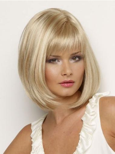 Short Capless Synthetic Modern Wigs