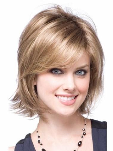 Short Capless Synthetic Modern Wigs