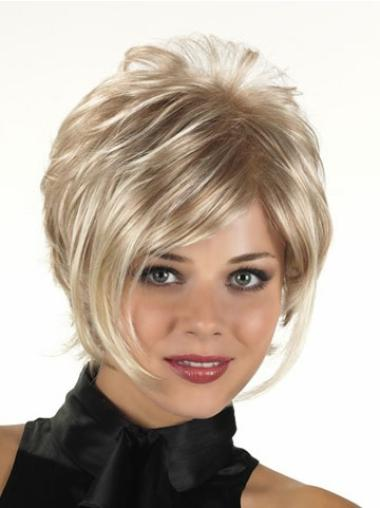 Short Capless Synthetic Stylish Wigs