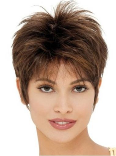 Short Capless Synthetic New Wigs