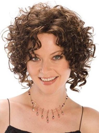 Medium Capless Synthetic Trendy Wigs