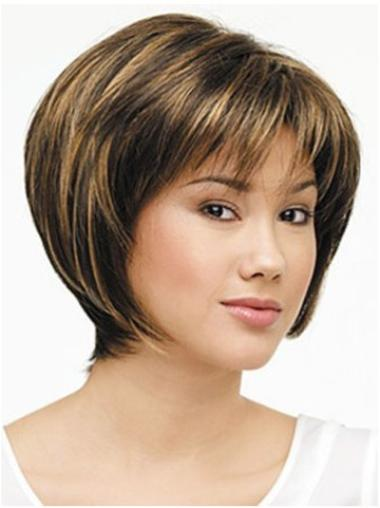 Short Lace Front Synthetic Affordable Wigs