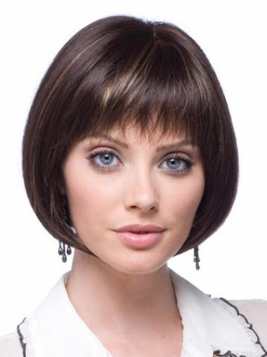 Short Lace Front Synthetic Flexibility Wigs