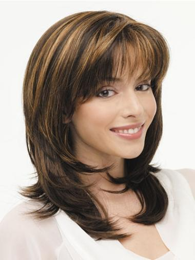 Long Lace Front Synthetic Comfortable Wigs