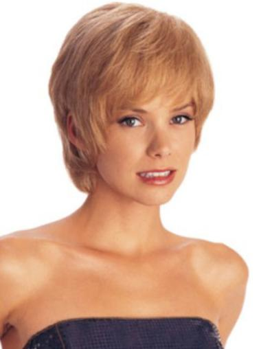 Short Capless Synthetic Perfect Wigs
