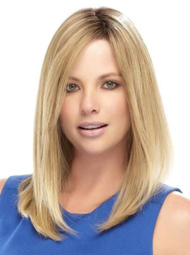 Medium Lace Front Synthetic Fashion Wigs