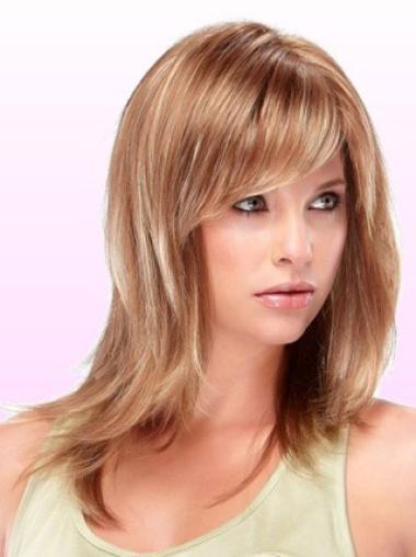 Medium Capless Synthetic Designed Wigs