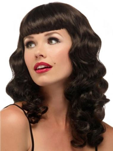 Long Capless Synthetic Fashion Wigs