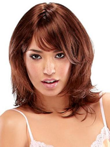 Synthetic Brown Wavy Gorgeous Wigs