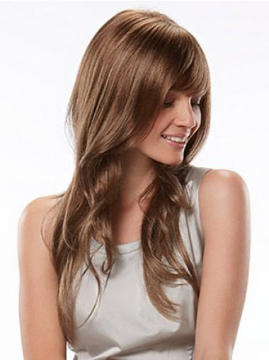 Long Capless Blonde Fashionableable Synthetic Wigs
