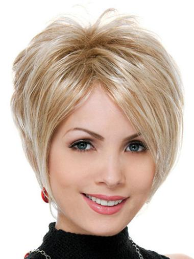Synthetic Blonde Wavy Beautiful Wigs