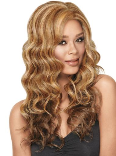 Synthetic Blonde Straight Ideal Wigs