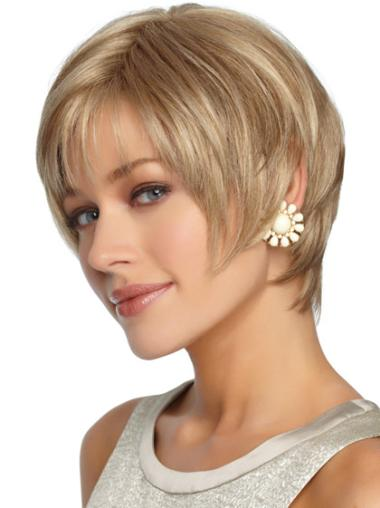 Synthetic Blonde Curly Fashion Wigs
