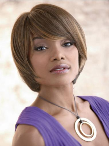 Short Capless Blonde Fashion Synthetic Wigs
