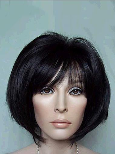 Synthetic Short Straight Gorgeous Black Wigs