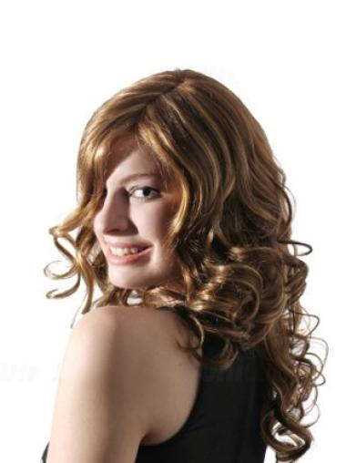 Synthetic Long Wavy New Blonde Wigs