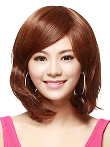 Straight Beautiful Synthetic Auburn Wigs