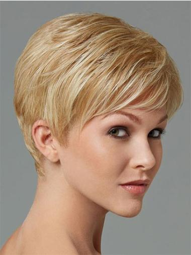Straight Fashion Synthetic Blonde Wigs