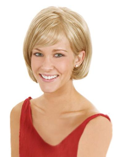 Synthetic Blonde Straight High Quality Wigs