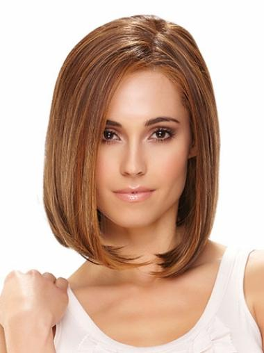 Straight Gorgeous Synthetic Brown Wigs