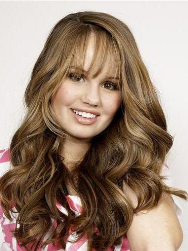 Lace Front Wavy Long Remy Human Hair Wigs