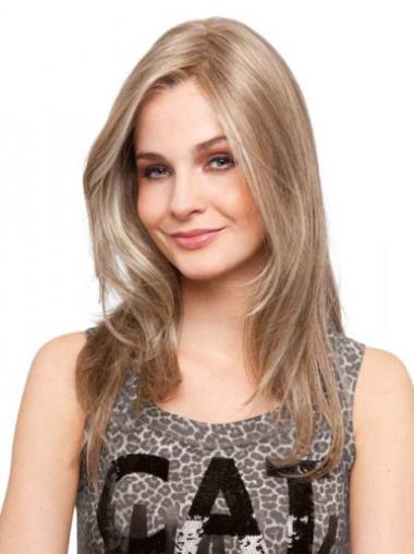 Blonde Remy Human Hair New Straight Wigs