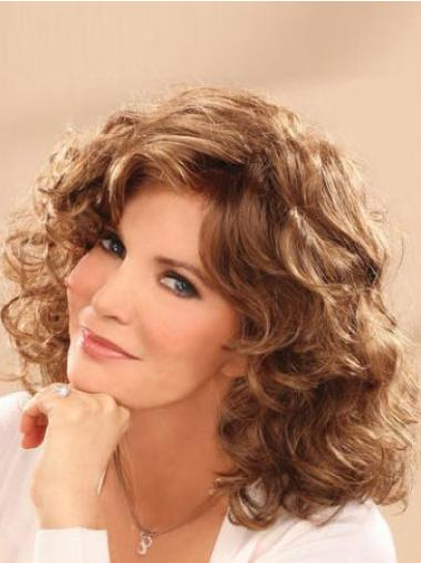 Brown Synthetic Good Wavy Wigs