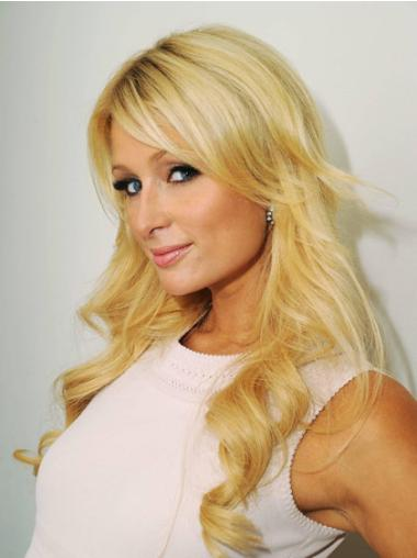 Blonde Synthetic High Quality Wavy Wigs