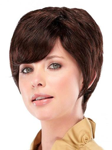 Auburn Synthetic Beautiful Straight Wigs