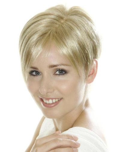 Lace Front Short Blonde Perfect Wigs