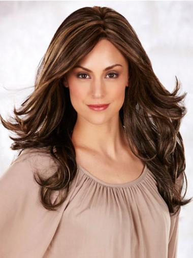 Monofilament Long Brown Perfect Wigs