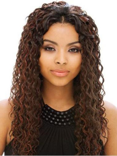 Full Lace Long Brown Beautiful Wigs