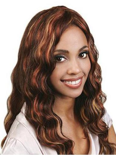 Full Lace Long Auburn Modern Wigs