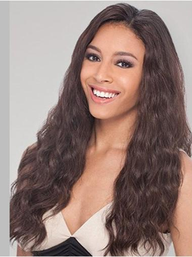 Lace Front Long Brown Stylish Wigs