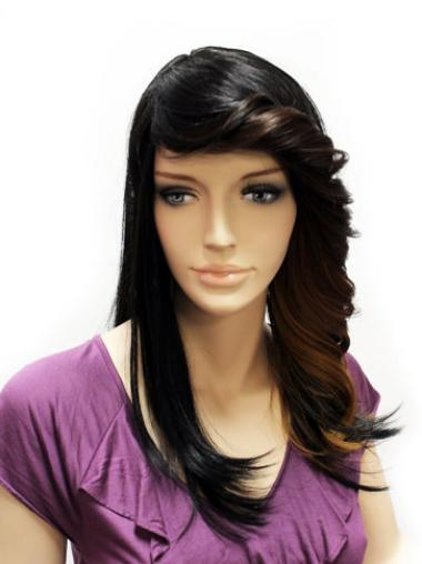 Lace Front Long Black New Wigs