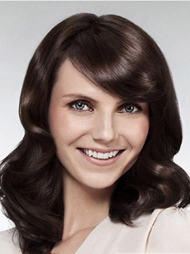 Lace Front Long Brown Affordable Wigs