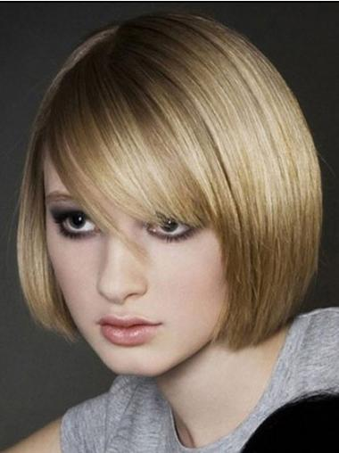Full Lace Short Blonde Ideal Wigs