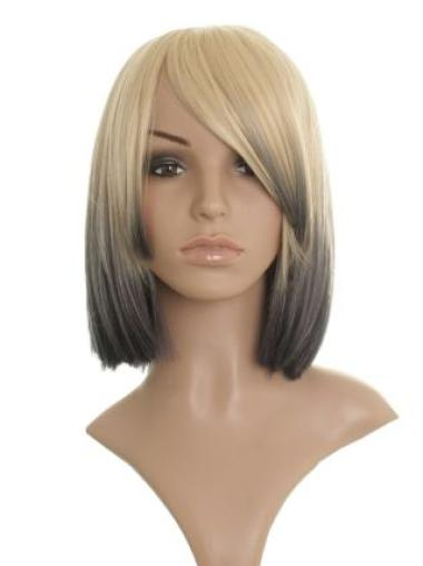 "Cheap Synthetic Capless 12"" Celebrity Wigs Hairstyle"