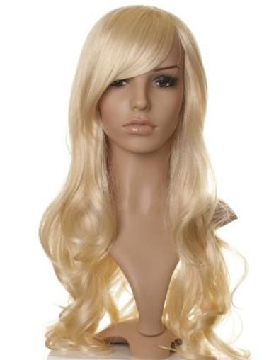 "Synthetic Capless 26"" Celebrity Wigs Hairstyle"